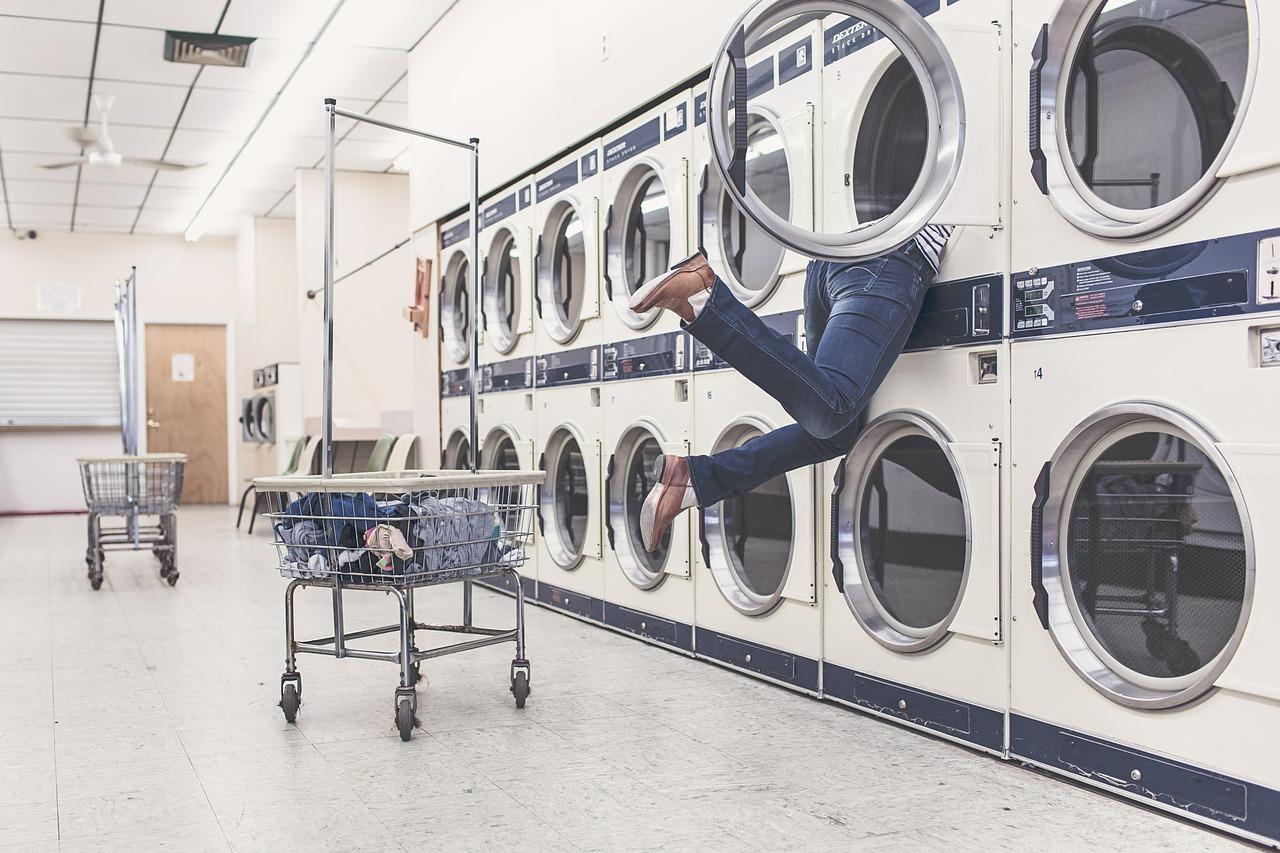 lavadora estrecha